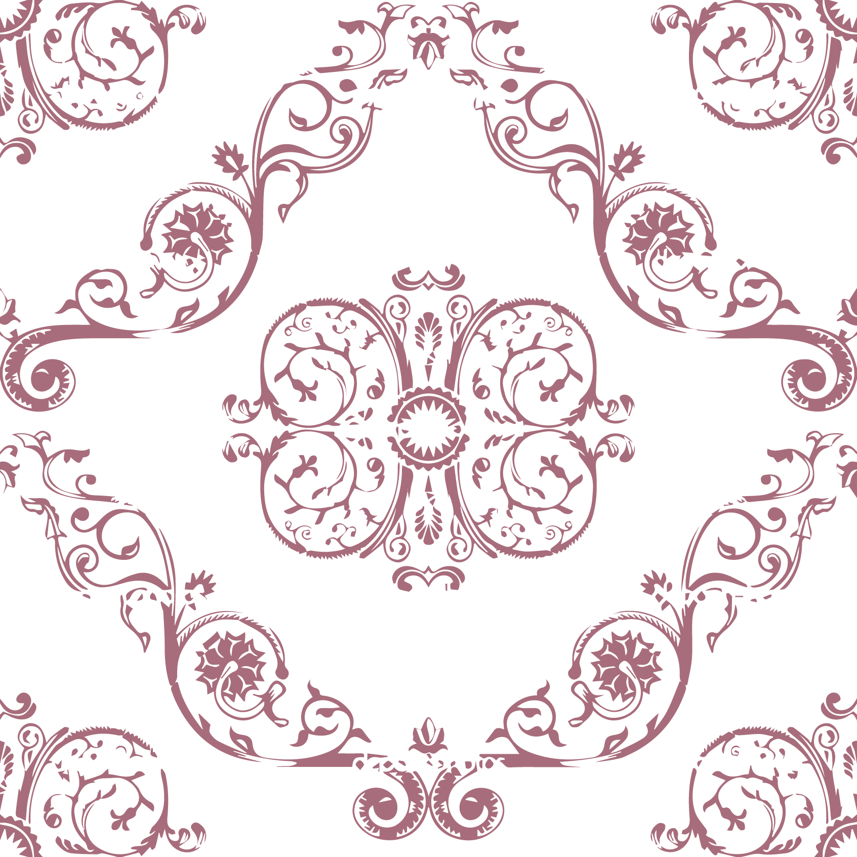 Depositphotos_5814734 Seamless Vintage Pattern Texture Wallpaper Background. Png