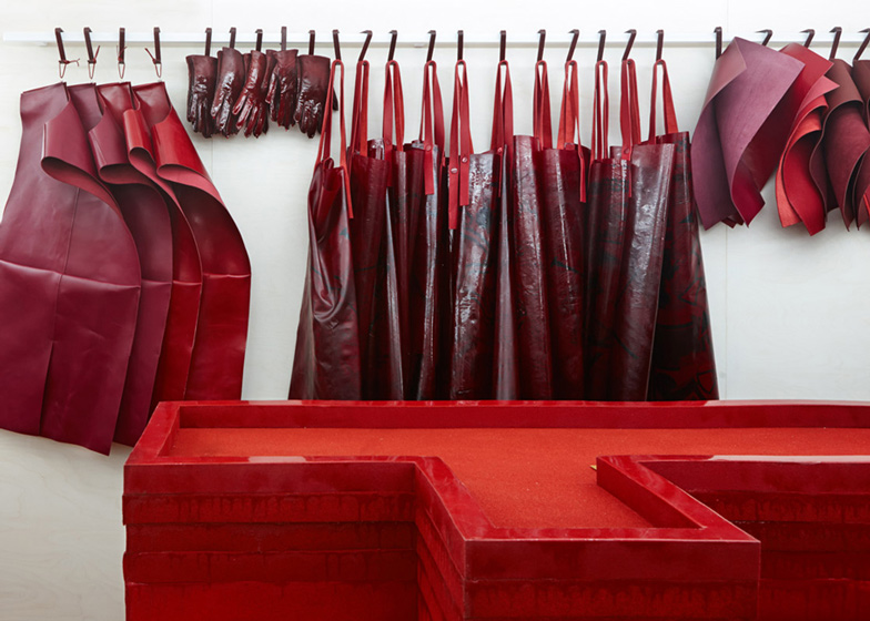 Studio Toogood's installation for Hermès Petit H  The Heritage Studio